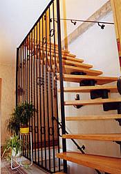 Treppengeländer pulverbeschichtet anthrazit